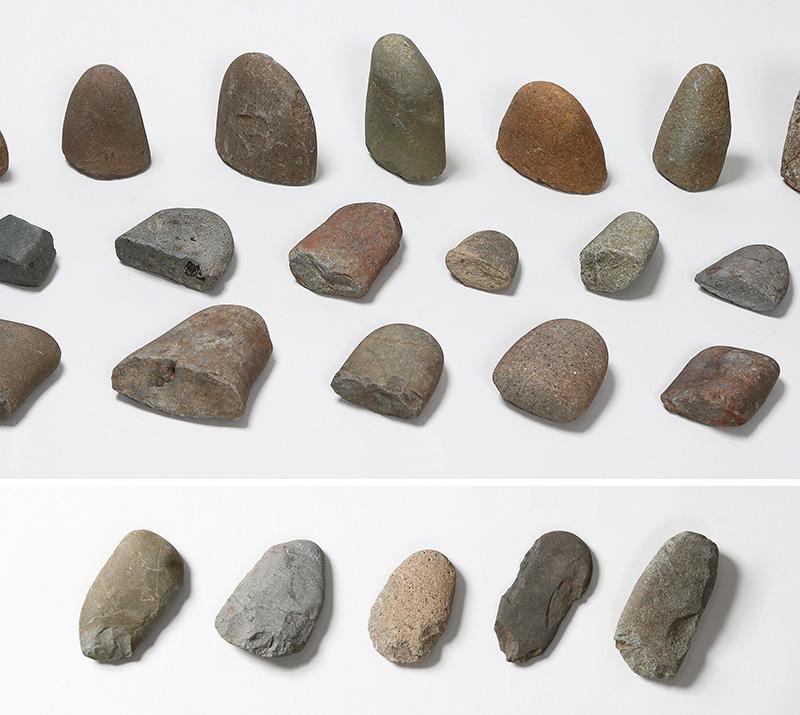 一万年前の謎の石器 ―縄文時代早期の「スタンプ形石器」と「礫斧(れきふ)」―