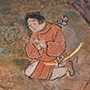 今月の逸品のご紹介「聖徳太子絵伝断簡」