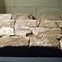 今月の逸品のご紹介「神奈川県庁新庁舎敷地内から出土した切石積みの壁」