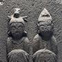 今月の逸品のご紹介「双体道祖神」