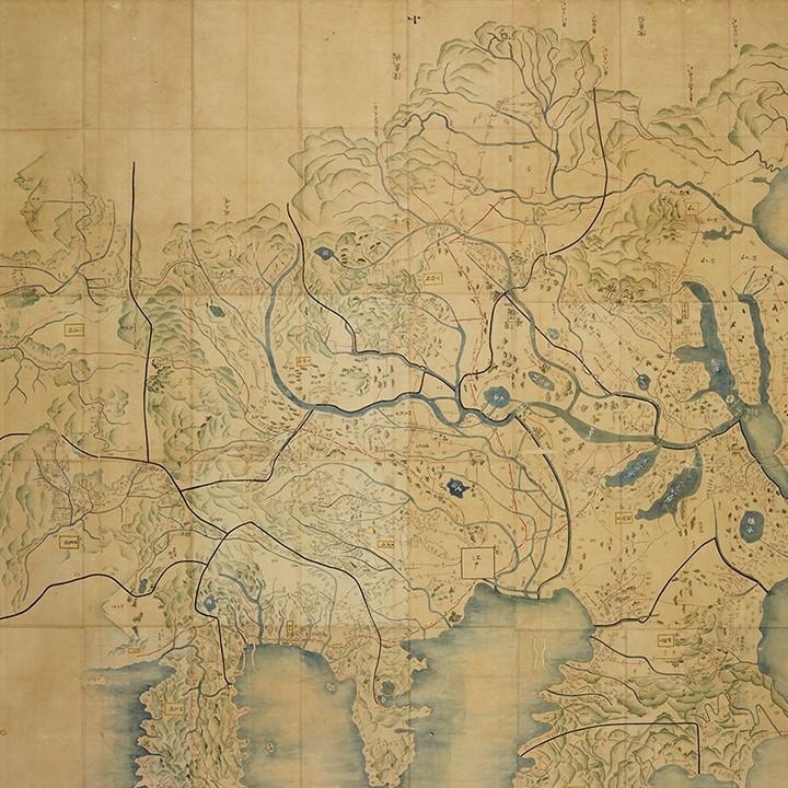 今月の逸品(5月)のご紹介「関八州大絵図(かんはっしゅうおおえず)」