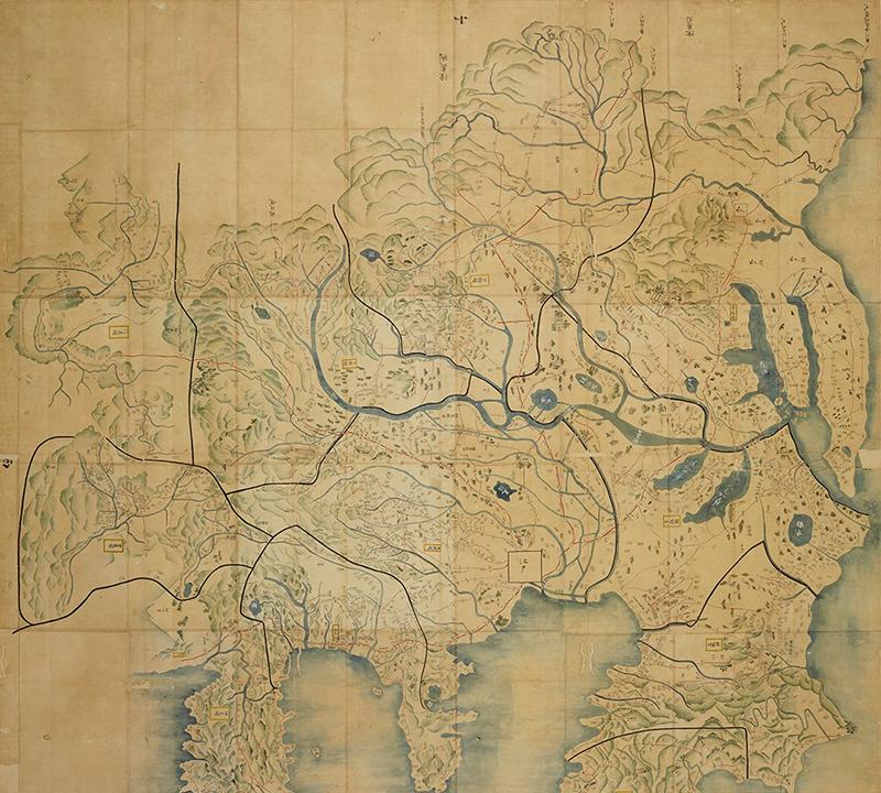 関八州大絵図(かんはっしゅうおおえず)
