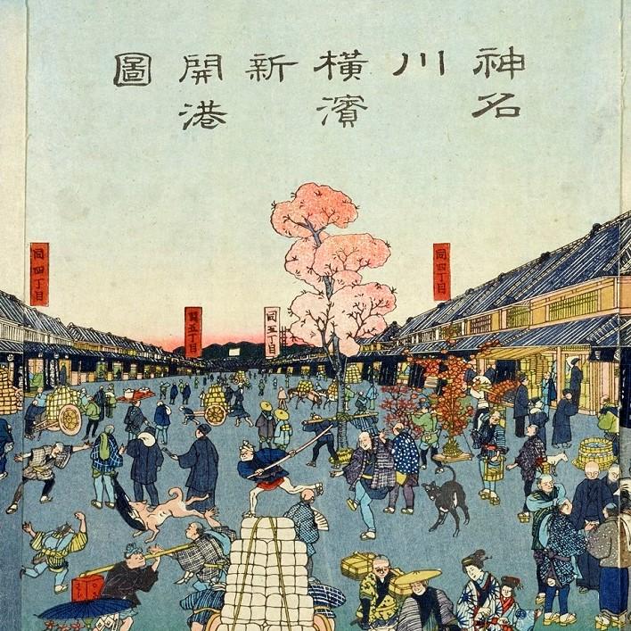 横浜浮世絵ポストカードプレゼントキャンペーン