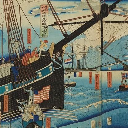 特別展「横浜開港160年 横浜浮世絵」が6月9日(日)9:45~と20:45~(同日2回放送)、Eテレ日曜美術館アートシーンにて紹介されます。