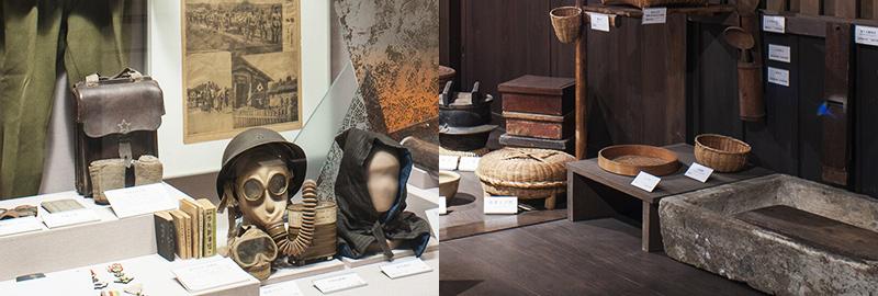 常設展示 現代・民族「現代の神奈川と伝統文化」