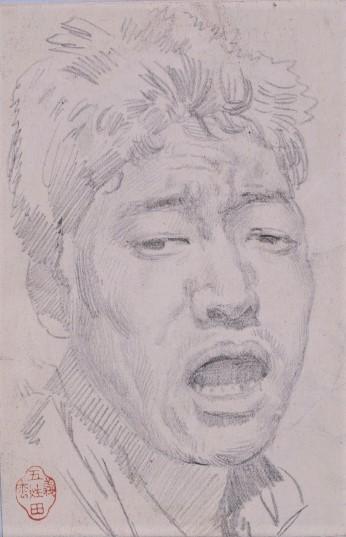 落胆の表情の描写