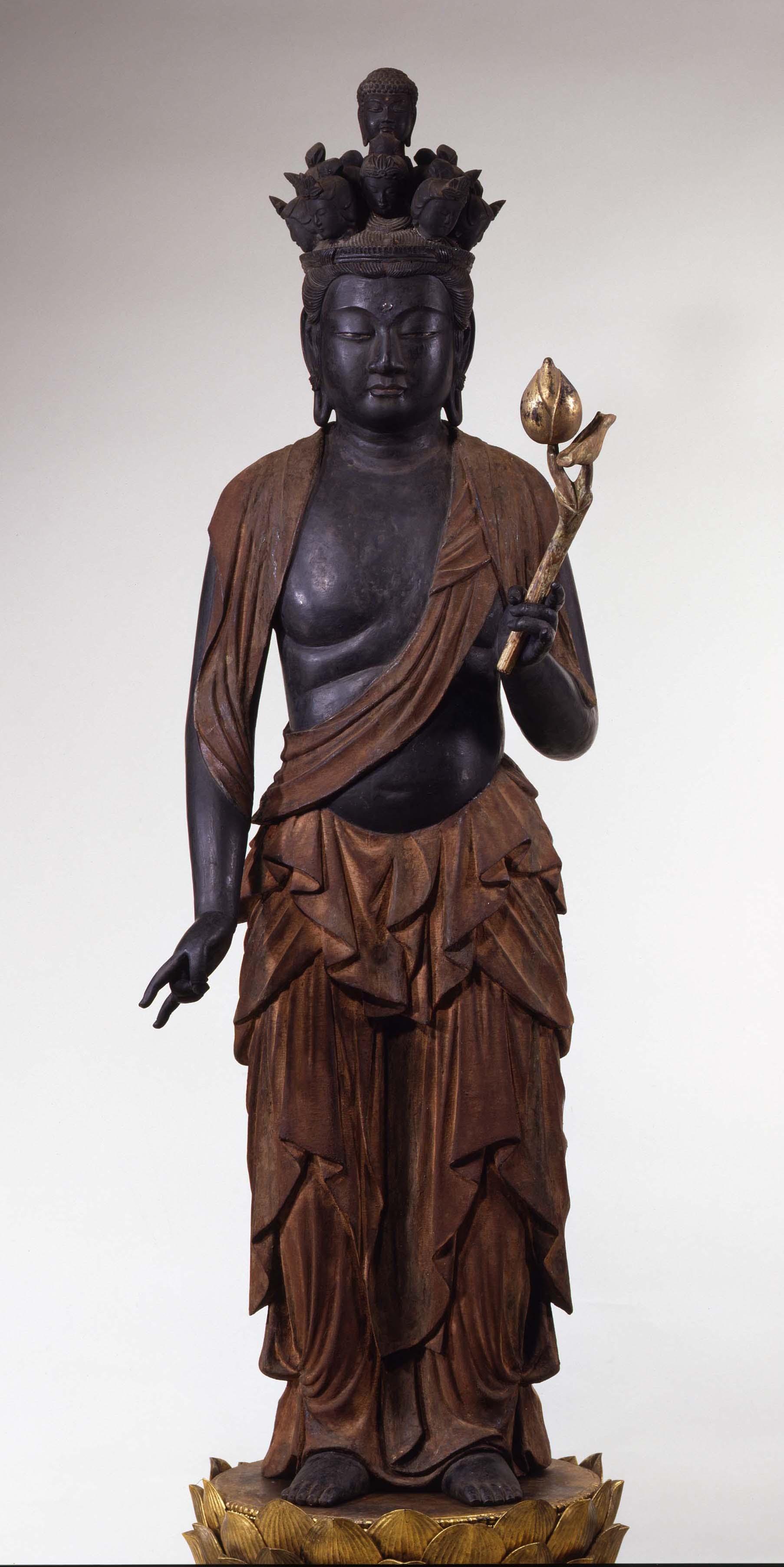 十一面観音菩薩立像