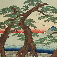 播州 舞子の浜(部分)