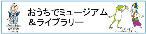 おうちでミュージアム&ライブラリー