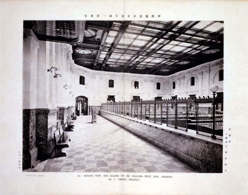 展示室の昔の写真