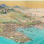 今月の逸品のご紹介「神奈川県鳥瞰図」