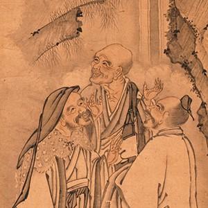 今月の逸品(12月)のご紹介「虎渓三笑図(こけいさんしょうず)」