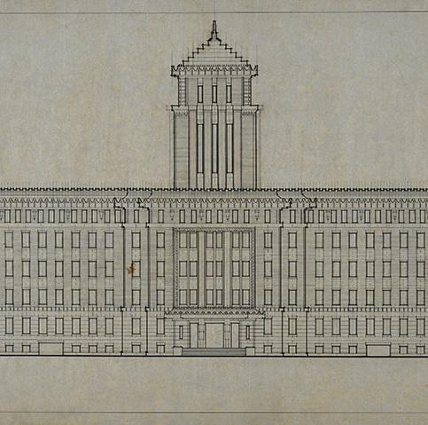 今月の逸品(7月)のご紹介 重要文化財「神奈川県庁舎」附指定の建築図面