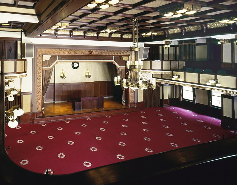 神奈川県庁本庁舎大会議場