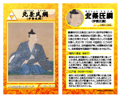 北条氏綱カード画像